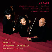 Mozart: Sinfonia Concertante in E-flat for Violin, Viola and Orchestra; Concerto in D for Violin, Piano and Orchestra by Midori