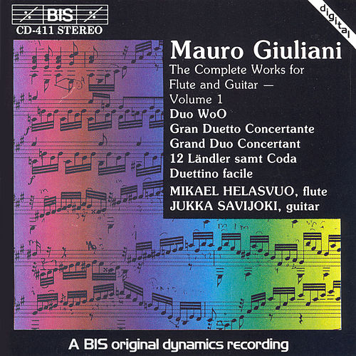 Play & Download Complete Works For Flute And Guitar, Vol. 1 by Mauro Giuliani | Napster