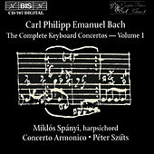 Play & Download Complete Keyboard Concertos, Vol.  1 by Carl Philipp Emanuel Bach | Napster