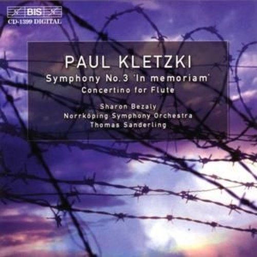 Play & Download Symphony No. 3/Concertino For Flute by Paul Kletzki | Napster