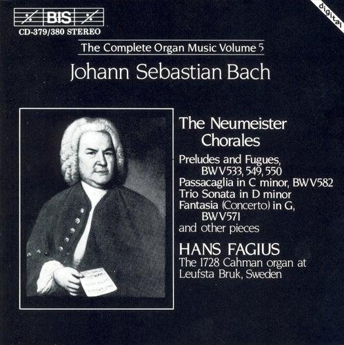 Complete Organ Music, Vol. 5 by Johann Sebastian Bach