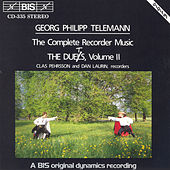 Play & Download Complete Recorder Music, The  Duets, Vol. Ii by Georg Philipp Telemann | Napster