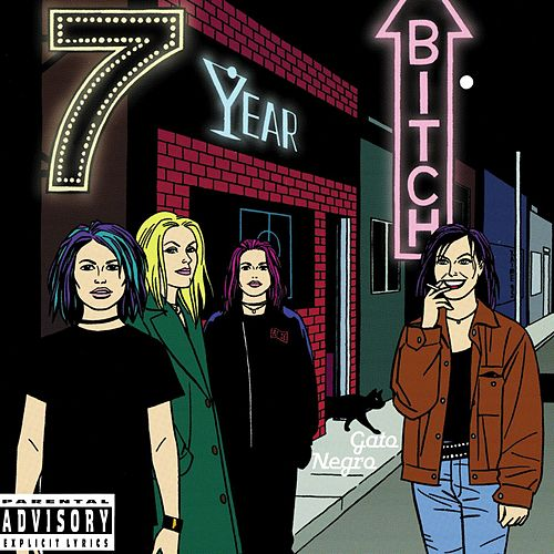 Play & Download Gato Negro by 7 Year Bitch | Napster