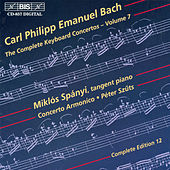Play & Download Complete Keyboard Concertos, Vol.  7 by Carl Philipp Emanuel Bach | Napster