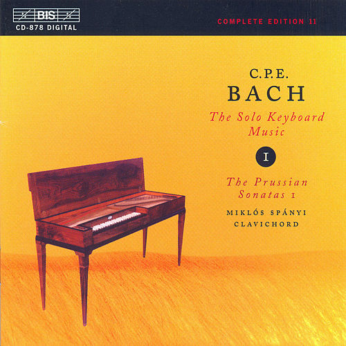 Solo Keyboard Music, Vol.  1 by Carl Philipp Emanuel Bach