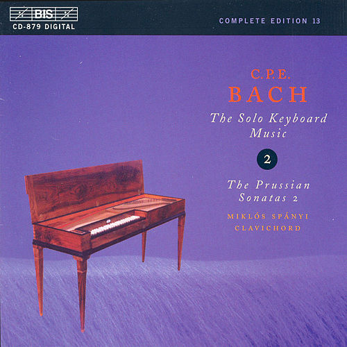 Solo Keyboard Music, Vol.  2 by Carl Philipp Emanuel Bach