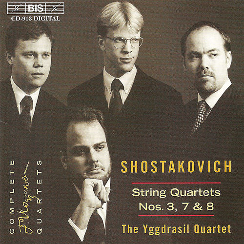 Play & Download String Quartets Nos. 3, 7 and 8 by Dmitri Shostakovich | Napster