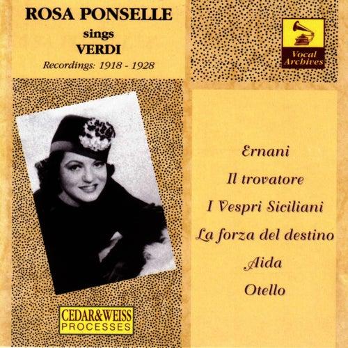 Rosa Ponselle: The Verdi Recordings (1918-1928) von Rosa Ponselle