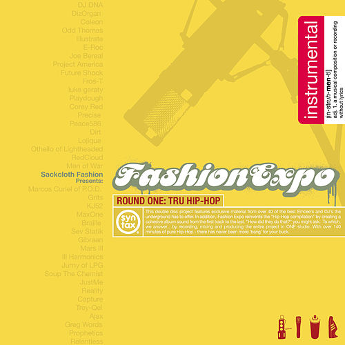 Play & Download Fashion Expo - Round 1: The Instrumentals by Sackcloth Fashion | Napster