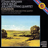 Play & Download Chausson: Concerto in D Major for Violin, Piano and String Quartet, Op. 21 by Itzhak Perlman | Napster