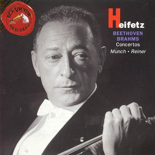 Play & Download Beethoven/brahms: Concertos by Jascha Heifetz | Napster