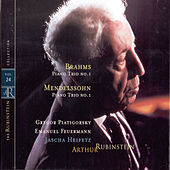 Play & Download Rubinstein Collection, Vol. 24: Mendelssohn: Piano Trio, Op. 49; Brahms: Piano Trio, Op. 8 by Various Artists | Napster