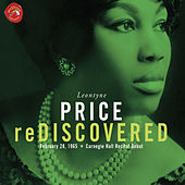 Leontyne Price Rediscovered Carnegie Hall Recital by Leontyne Price
