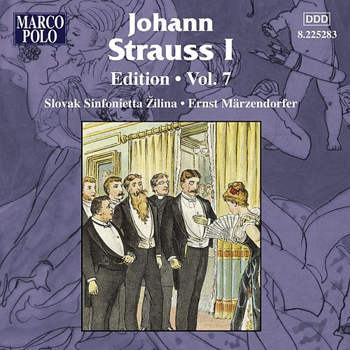 Strauss I, J.: Edition - Vol. 7 by Johann Strauss, Sr.