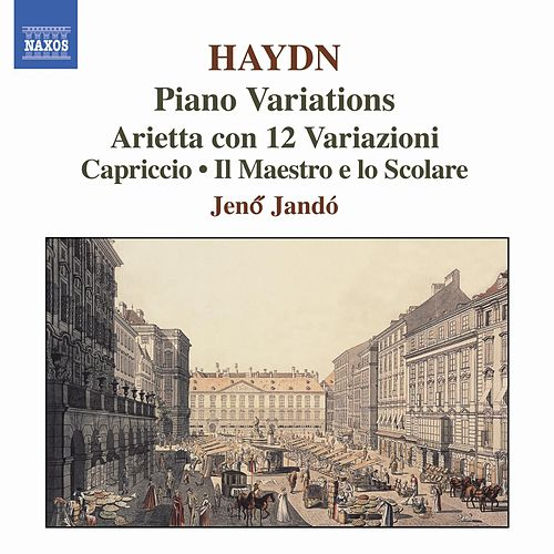 Play & Download Haydn: Piano Variations by Jeno Jando | Napster