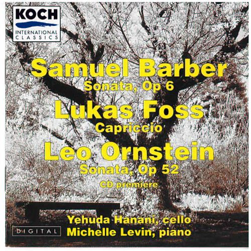 Cello Works by Samuel Barber