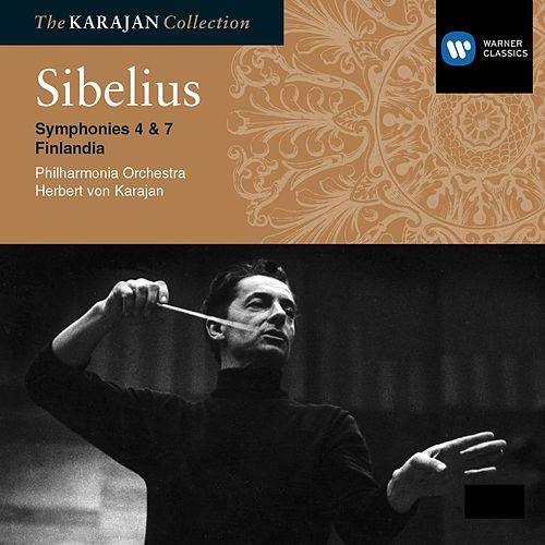 Play & Download Sibelius: Symphony Nos 4 & 7; Finlandia by Philharmonia Orchestra | Napster