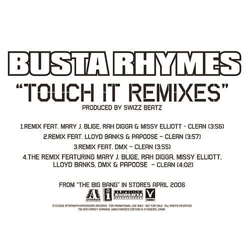 Play & Download Touch It Remixes by Busta Rhymes | Napster