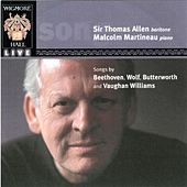 Play & Download Songs By Beethoven, Wolf, Butterworth & Vaughan Williams by Sir Thomas Allen | Napster