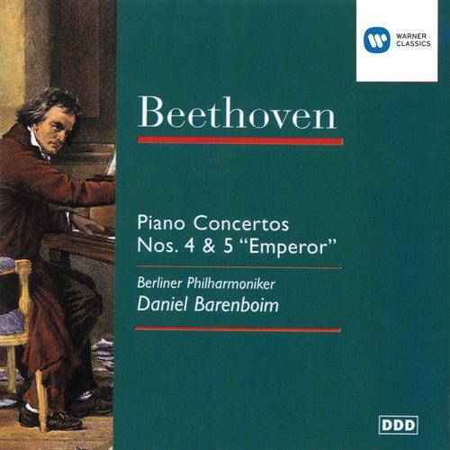 Beethoven: Piano Concertos Nos. 4 & 5 by Berliner Philharmoniker