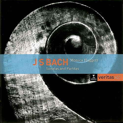 Bach: Sonatas & Partitas for solo violin by Monica Huggett