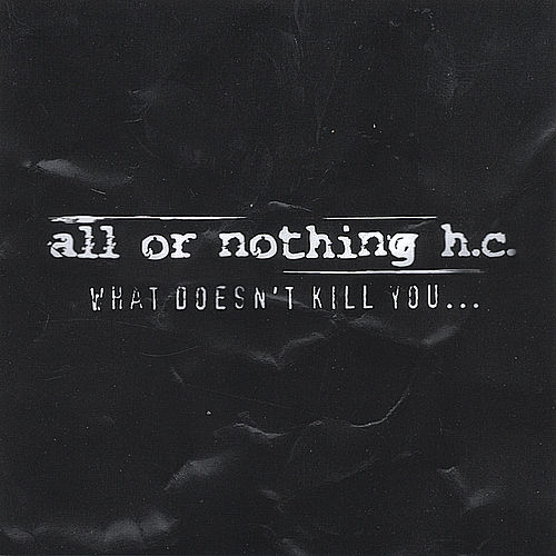 What Doesn't Kill You... by All Or Nothing H.C.