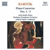 Play & Download Piano Concertos Nos. 1 - 3 by Bela Bartok | Napster