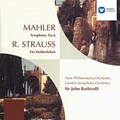 Play & Download Mahler: Symphony No. 6; R. Strauss: Ein Heldenleben by New Philharmonia Orchestra | Napster