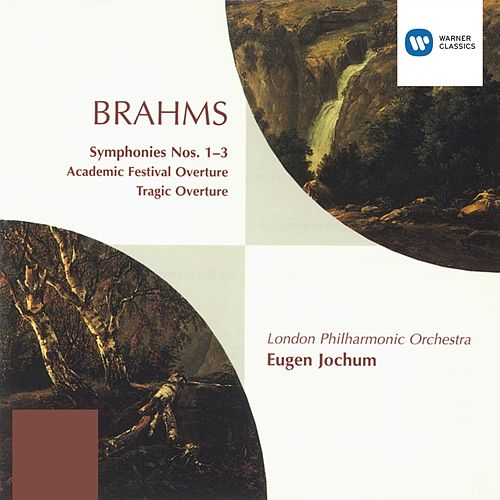 Brahms: Symphonies Nos. 1-3 & Overtures by London Philharmonic Orchestra