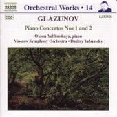 Piano Concertos Nos. 1 and 2 by Alexander Glazunov