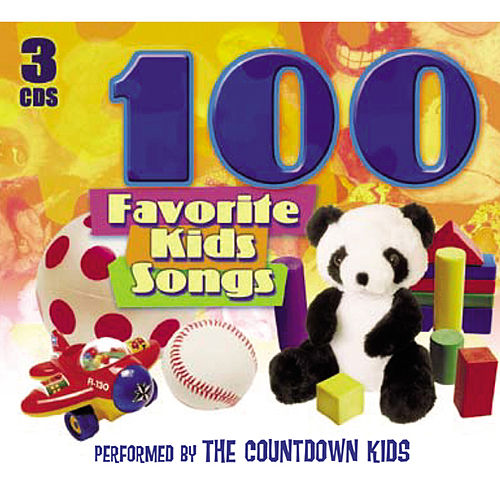 Play & Download 100 Favorite Kids Songs by The Countdown Kids | Napster