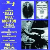 The Complete Jelly Roll Morton Piano Heritage, Vol.1 - 1923/24 by Jelly Roll Morton