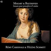 Play & Download Mozart & Beethoven: Sonates pour pianoforte & violon by Helene Schmitt | Napster