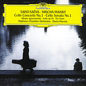 Saint-Saëns: Cello Concerto No.1; Cello Sonata No.1 by Mischa Maisky