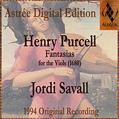 Henry Purcell: Fantasias For The Viols by Jordi Savall