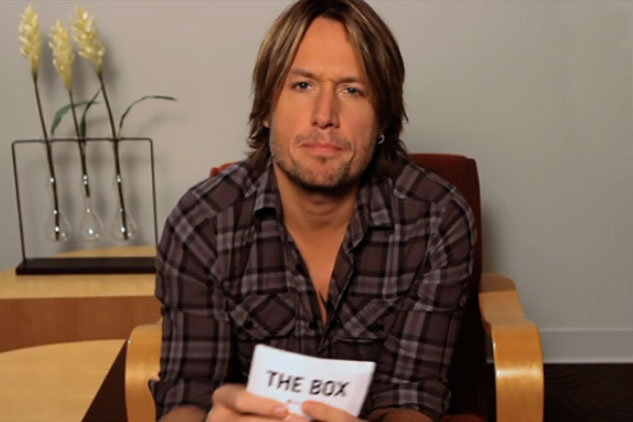 Keith Urban vs. The Box (interview)