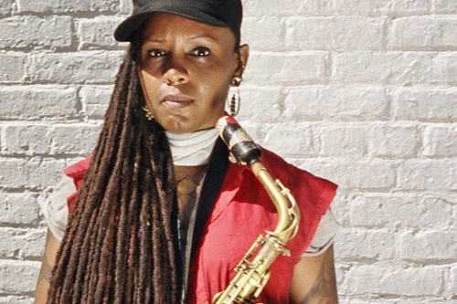 Get Up With: Matana Roberts' Saxophone