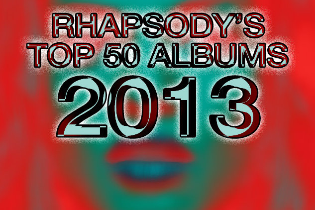 Napster's Top 50 Albums of 2013
