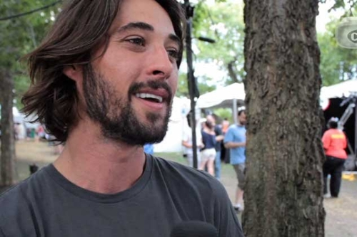 Ryan Bingham talks The Dude, T Bone Burnett at Lollapalooza (Video Interview)