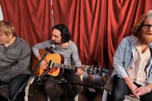 Stripped Down In A Yurt: Blitzen Trapper,