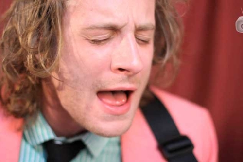 "Stripped Down In A Yurt Deer Tick, ""Funny Word"""