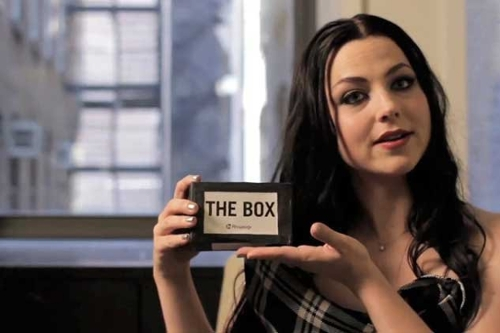 Evanescence vs. The Box (Video Interview)