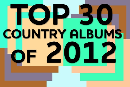 Top 30 Country Albums, 2012