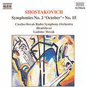 Symphonies Nos. 2 and 15 by Dmitri Shostakovich
