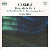 Piano Music Vol. 3 by Jean Sibelius