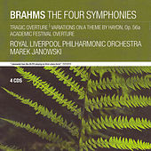 Brahms:  Symphonies 1-4 by Royal Philharmonic Orchestra