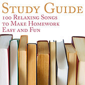Study Guide: 100 Relaxing Songs to Make Homework Easy and Fun by Pianissimo Brothers