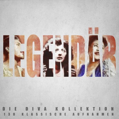 Legendär - Die Diva Kollektion - 130 Klassiche Aufnahmen by Various Artists