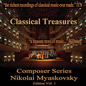 Classical Treasures Composer Series: Nikolai Myaskovsky, Vol. 1 by Various Artists