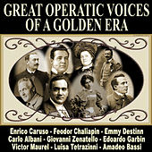 Great Operatic Voices of a Golden Era by Various Artists